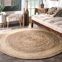 Havenside Home Duck Reversible Natural Fiber Jute Area Rug - 6'
