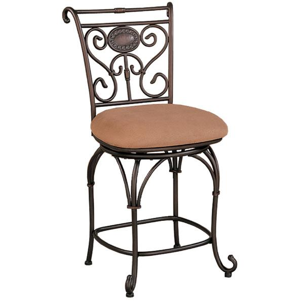 Wisconsin 24 Inch Swivel Counter Stool Free Shipping