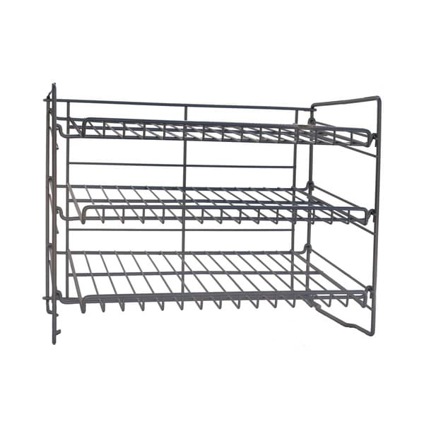 Atlantic Silver Steel Can Rack