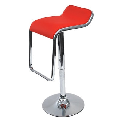 Flat Adjustable Chrome Swivel Stool Free Shipping Today