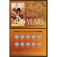 American Coin Treasures 10 Years of Buffalo Nickels