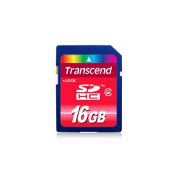 Transcend 16GB SDHC Flash Memory Card