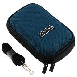 INSTEN Dark Blue Universal Digital Camera Phone Case Cover