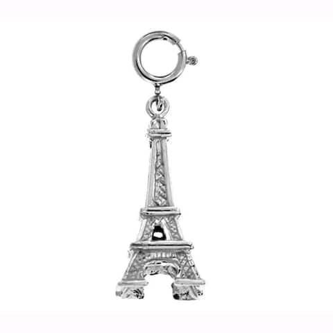 Sterling Silver Eiffel Tower Charm