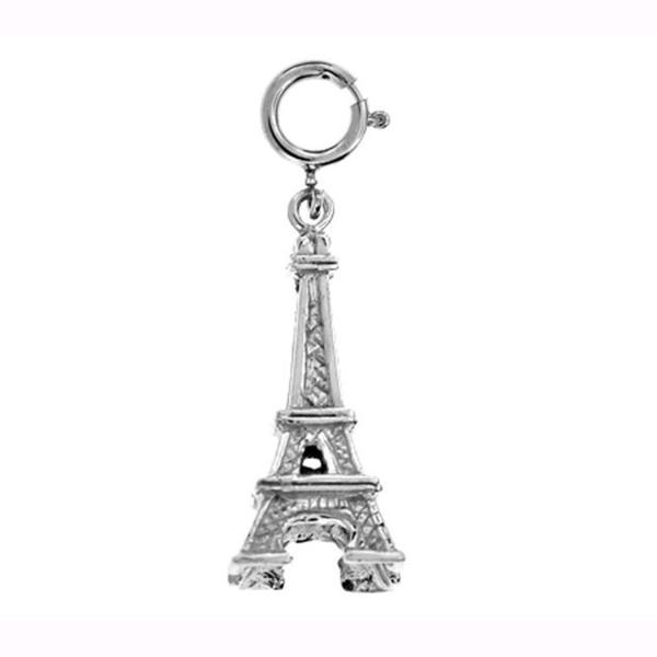Sterling Silver Eiffel Tower Charm. Opens flyout.