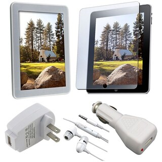 Clear 5-piece Combo Kit for Apple iPad