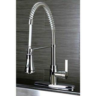 Continental Modern Spiral Pull-down Chrome Kitchen Faucet