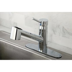 Wilshire Chrome Pullout Kitchen Faucet