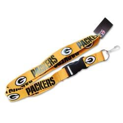Green Bay Packers Yellow Lanyard - Thumbnail 0