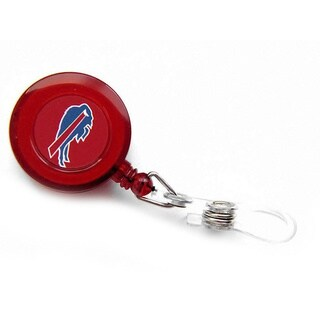 NFL Buffalo Bills Retractable Reel I.D. Holder