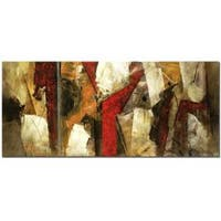 Lopez 'Abstract IX' Canvas Art - Multi