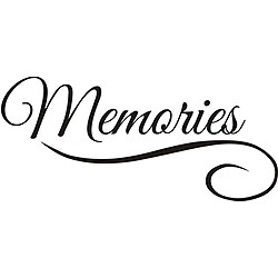 Design on Style 'Memories' Vinyl Wall Art Quote