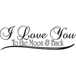 Shop Design On Style Ps I Love You Vinyl Wall Art Quote Free
