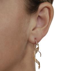 Goldfill Six-strand Spiral Earrings - Thumbnail 2