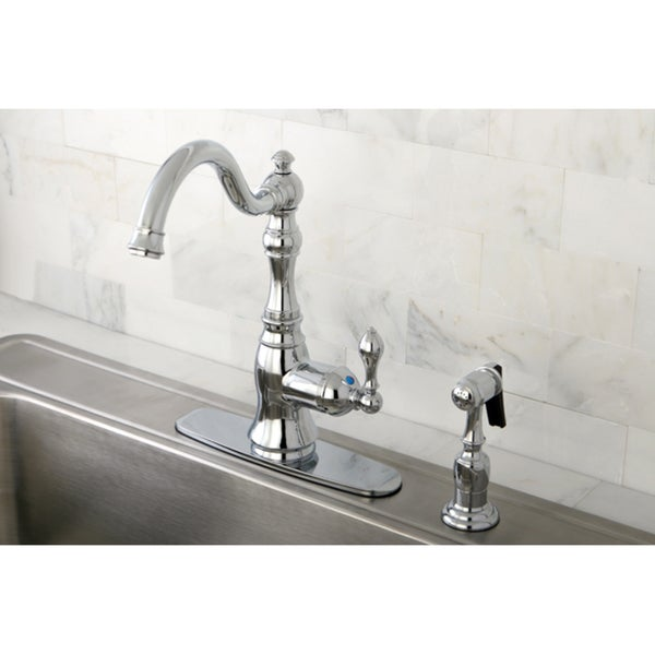 American Classic Chrome Single-Handle Kitchen Swivel Faucet
