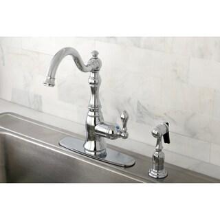 American Classic Chrome Single Handle Kitchen Swivel Faucet