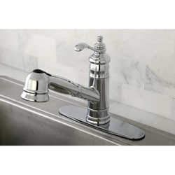 Templeton Chrome Pullout Kitchen Faucet