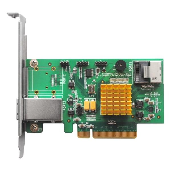 HighPoint RocketRAID 2721 8-port SAS RAID Controller