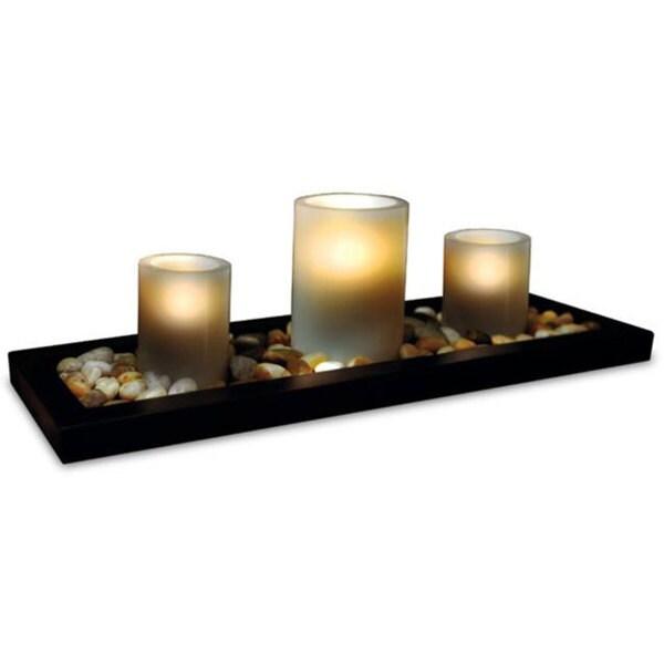 Sarah Peyton 3-piece Flameless Candle Set