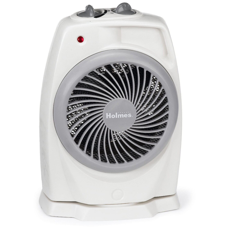Holmes HFH421-U Pivoting Heater Fan, White