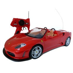 Tri Band 1:10-scale Remote Control Ferrari F430 Spider RTR Supercar