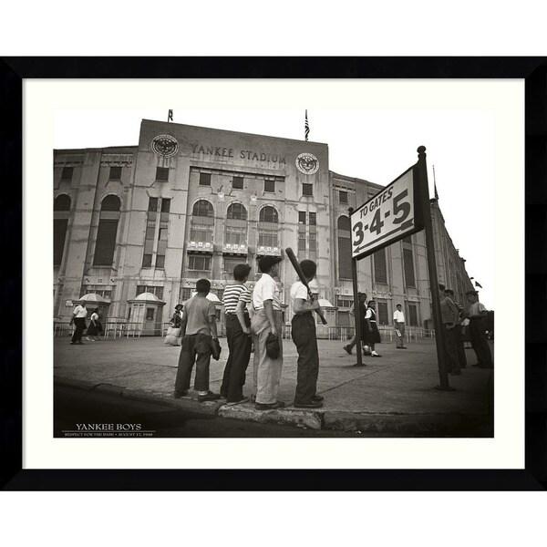 Corbis 'Yankee Boys' Framed Art