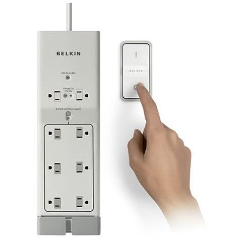 Belkin F7C01008 Conserve Switch 8-Outlets Surge Suppressor