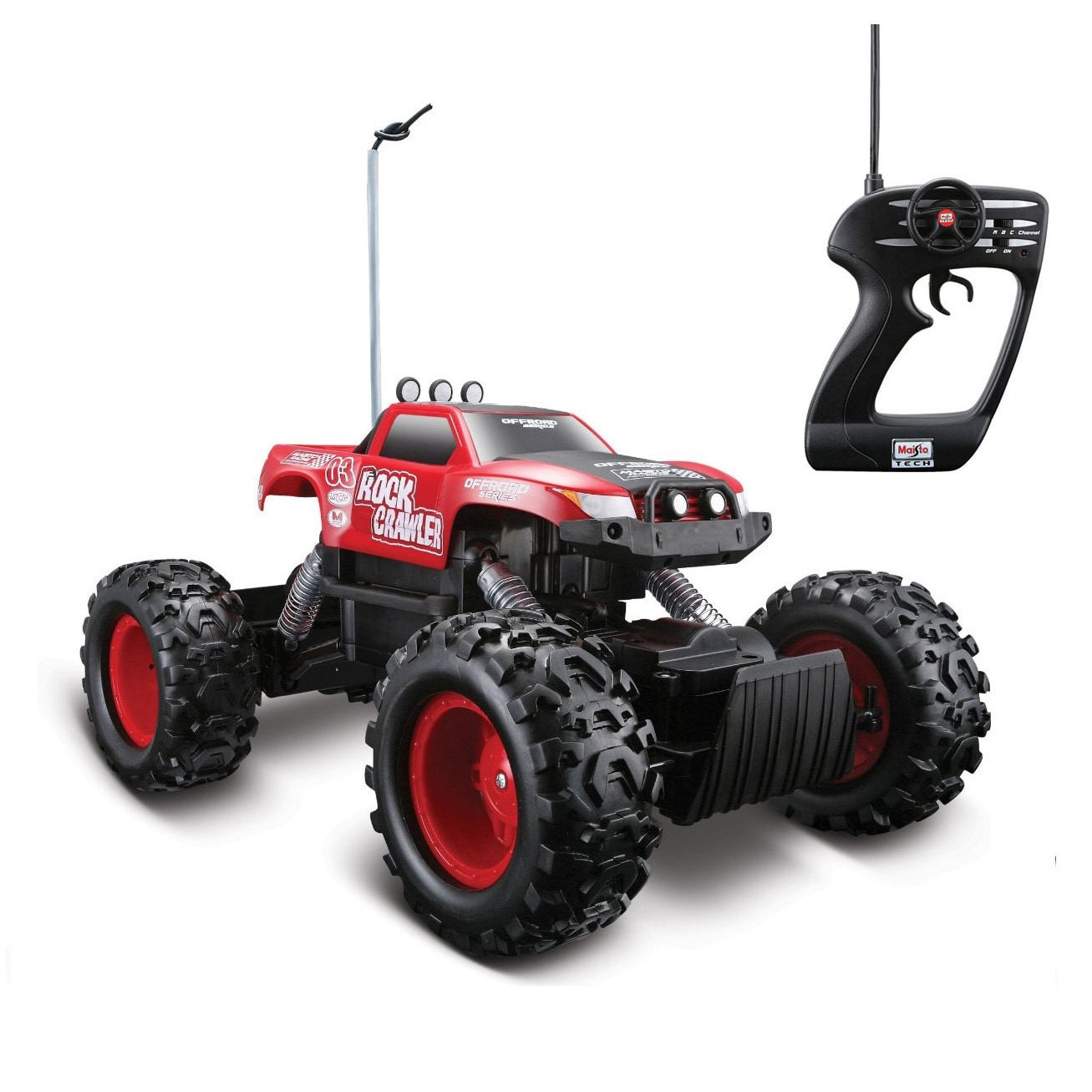 Shop Remote Control 4wd Tri Band Off Road Rock Crawler Rtr Monster Truck Overstock 5261848