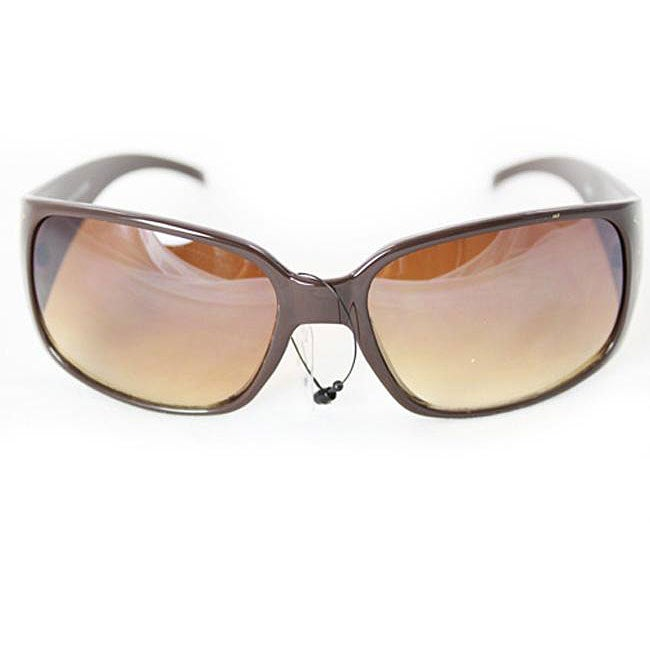 Women's Brown 8827 Vintage Sunglasses