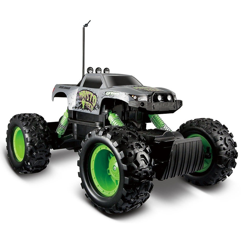 Maisto Remote Control 4WD Tri-Band Off-Road Rock Crawler ...