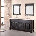 Design Element Marcos Solid Wood Double Sink Bathroom Vanity