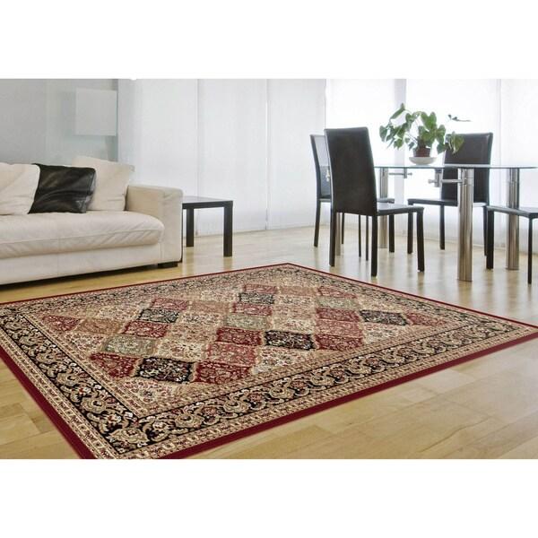 Alise Soho Multi Oriental Rug (5'3 x 7'3)