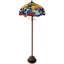 Dragonfly 2-light Antique Bronze Floor Lamp