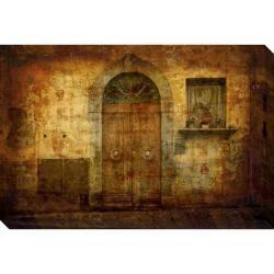 Gallery Direct 'Tuscan Doorway' Giclee Canvas Art