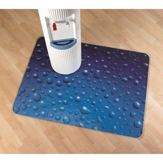 """Colortex Photomat Colourful Floor Mat with 'Drops' Photo Design For Hard Floors Rectangular Size 36"""" x 48"""""""