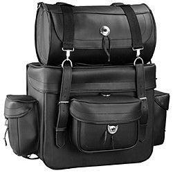 Motorcycle Touring Bag with Roll