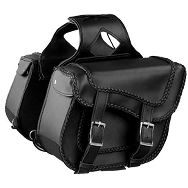 Zip Off Medium Motorcycle Saddlebags