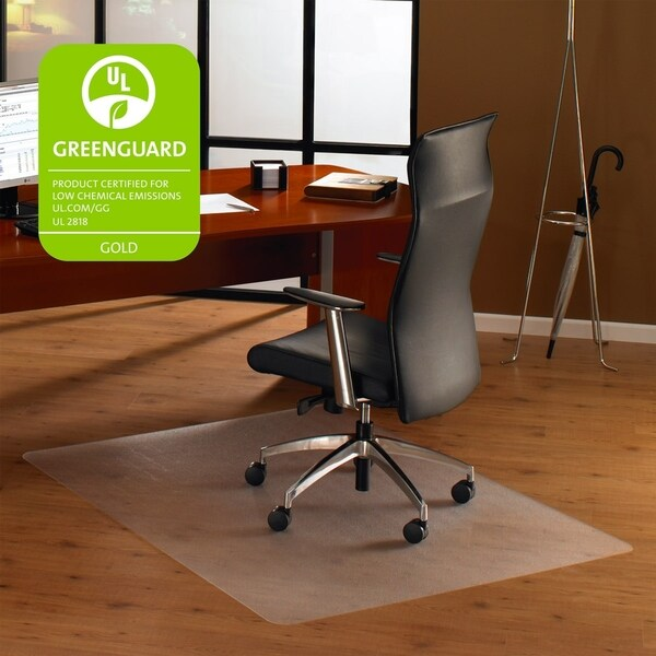Shop Cleartex Ultimat Chair Mat Rectangular Clear Polycarbonate
