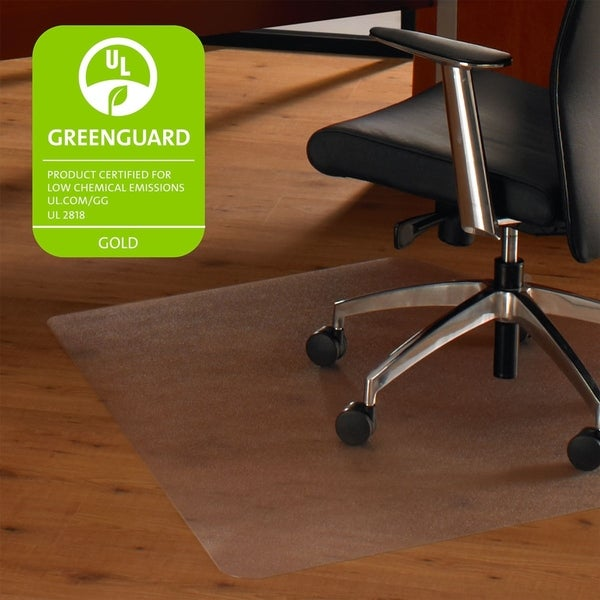 Shop Cleartex Ultimat Corner Workstation Chair Mat