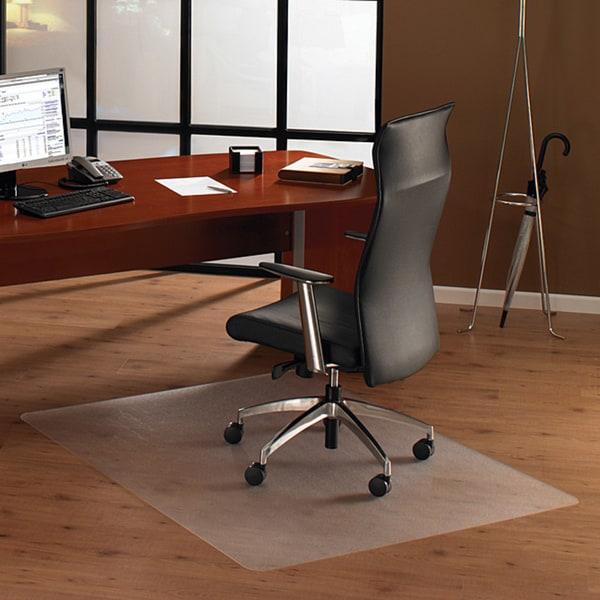 Floortex Cleartex Ultimat Polycarbonate Chair Mat. (48 x 60) for Hard Floor