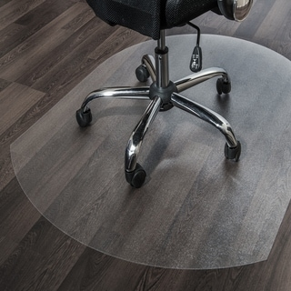 Floortex Cleartex Ultimat Contoured Chair Mat. (39 x 49) for Hard Floor