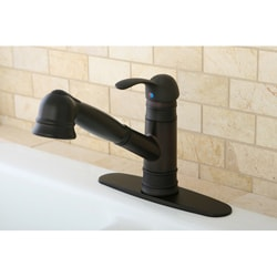 Eden Oil Rubbed Bronze Pullout Kitchen Faucet