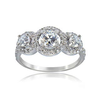 Icz Stonez Sterling Silver Cubic Zirconia Engagement Ring|https://ak1.ostkcdn.com/images/products/5266772/P13083932.jpg?impolicy=medium