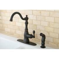 American Classic Naples Bronze Single-handle Kitchen Faucet