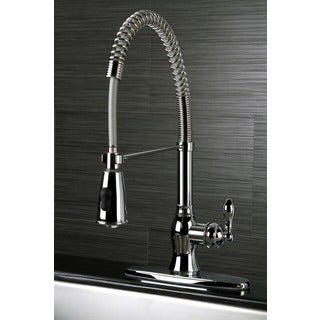 American Classic Modern Chrome Spiral Pull-down Kitchen Faucet