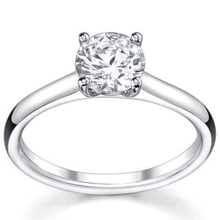 14k White Gold 1/2ct TDW Diamond Solitaire Engagement Ring|https://ak1.ostkcdn.com/images/products/5267043/P13084267.jpg?impolicy=medium