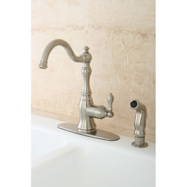 American Classic Satin Nickel Single-handle Kitchen Faucet
