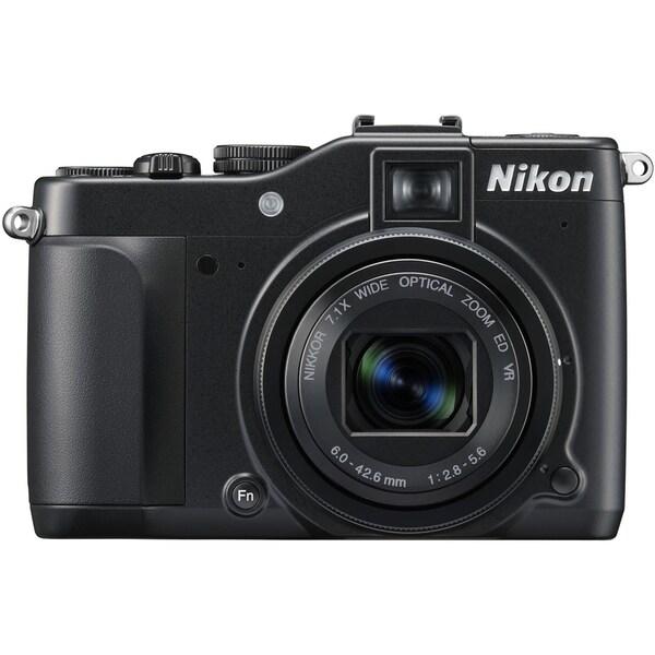 Nikon Coolpix P7000 10.1 Megapixel Compact Camera - Black