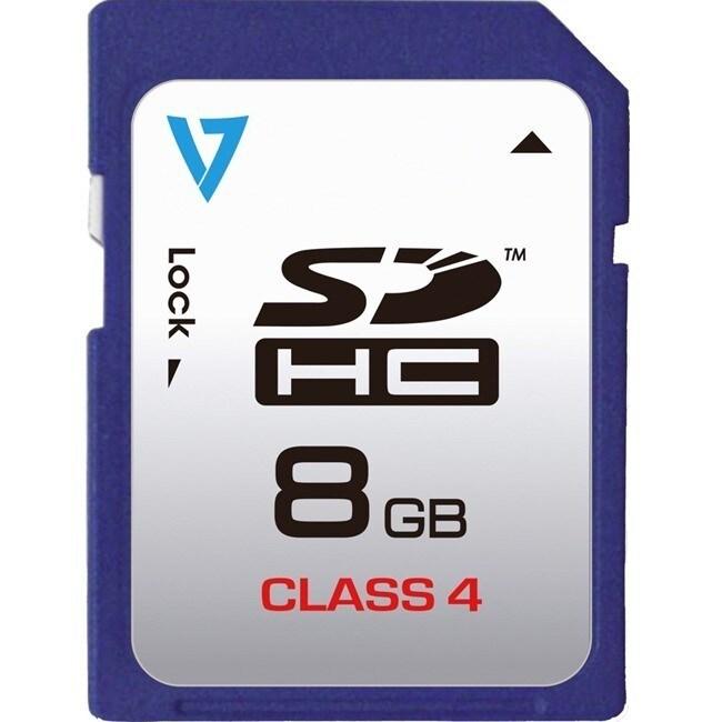 V7 Technology VASDH8GCL4R-1N 8 Gb Sdhc