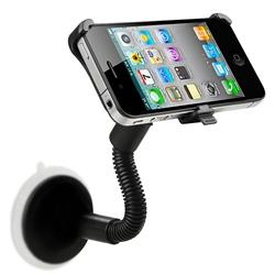 INSTEN Windshield Mount Holder for Apple iPhone 4